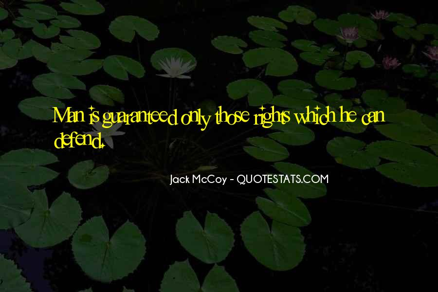 Defend Your Rights Quotes #90814