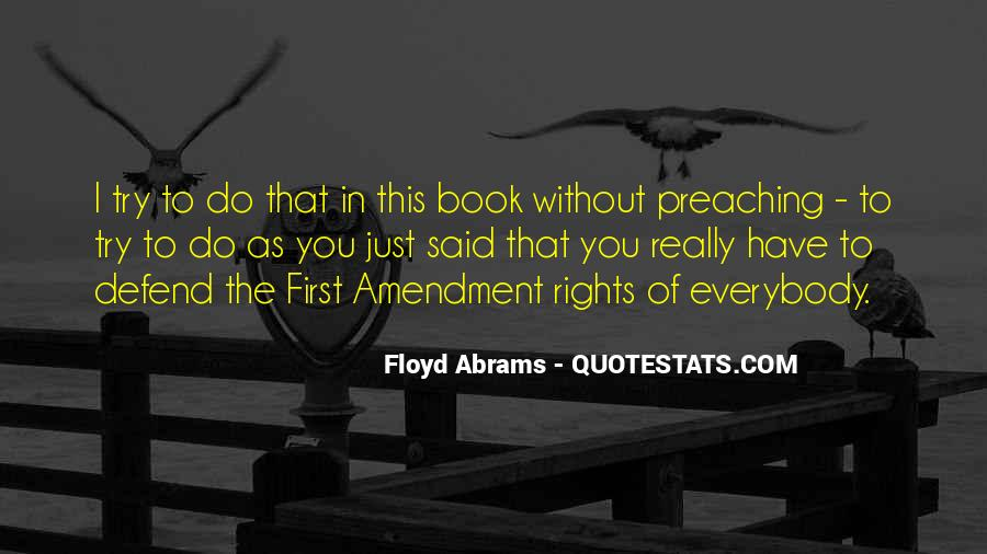 Defend Your Rights Quotes #911784