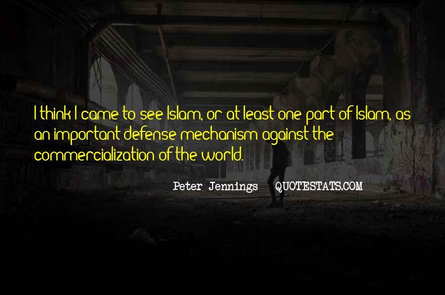 Defense Mechanism Quotes #1548586