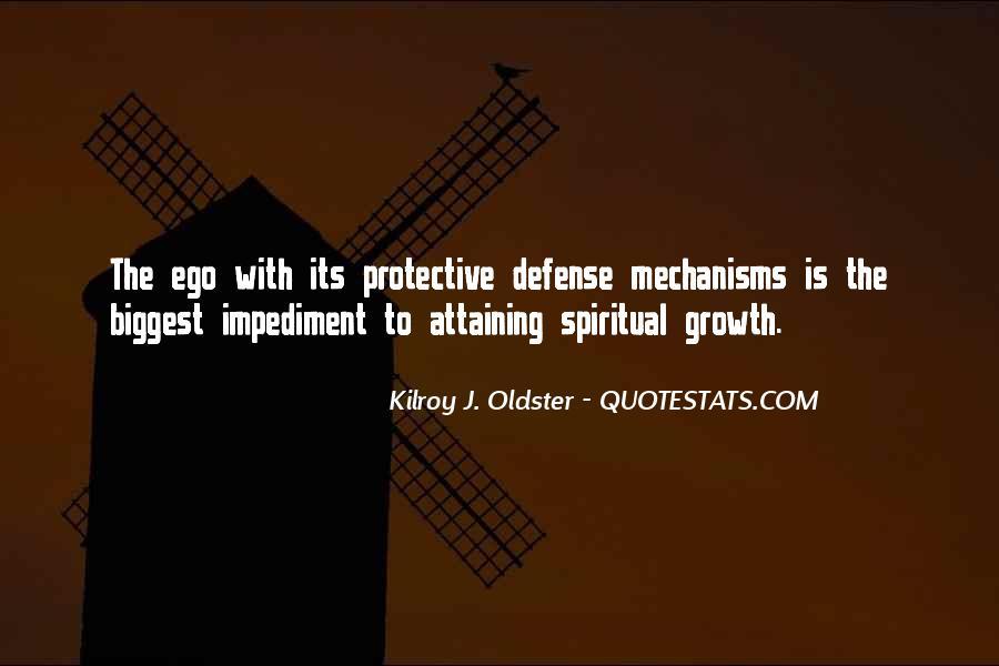 Defense Mechanism Quotes #1563787