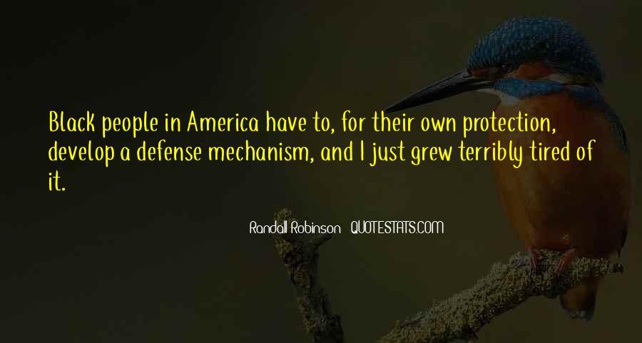 Defense Mechanism Quotes #1625604