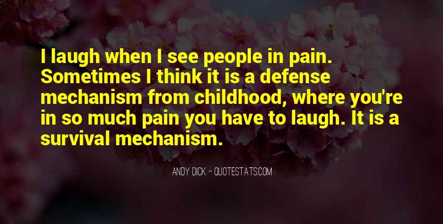 Defense Mechanism Quotes #1835416