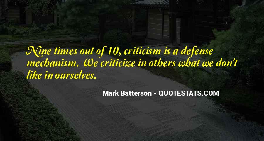 Defense Mechanism Quotes #374876