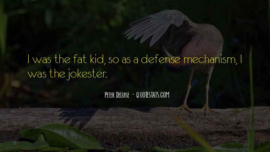 Defense Mechanism Quotes #543960