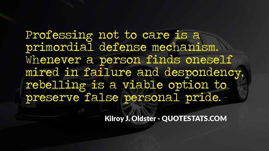 Defense Mechanism Quotes #627272