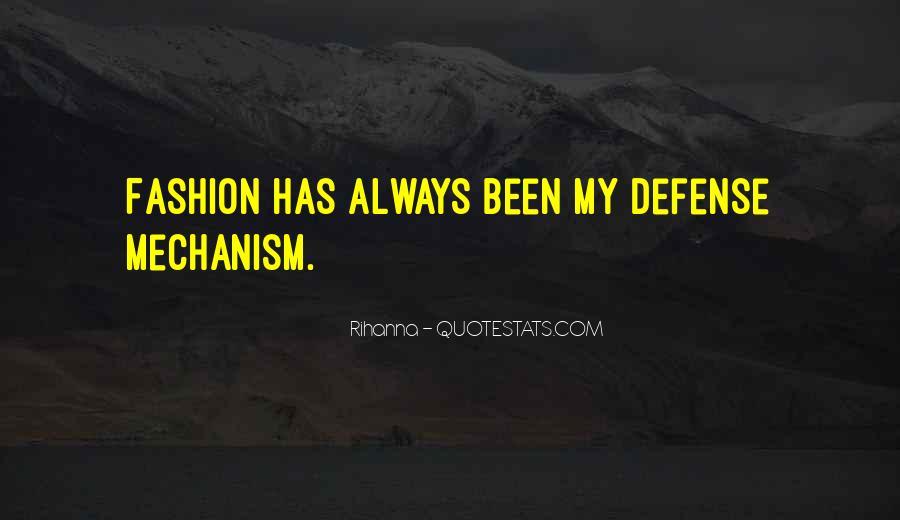 Defense Mechanism Quotes #810726