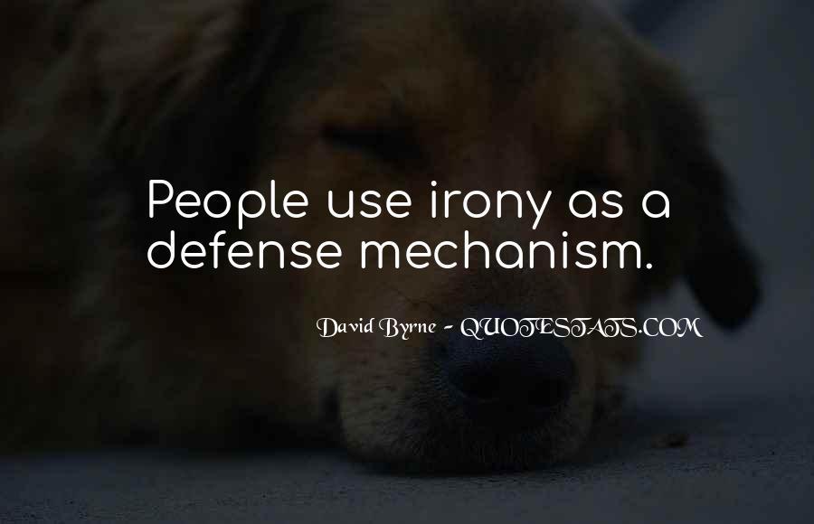 Defense Mechanism Quotes #814327