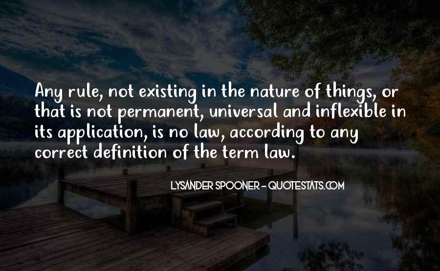Definition Of Law Quotes #424442