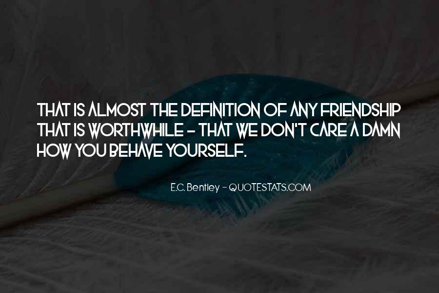 Definitions Of Friendship Quotes #1392046