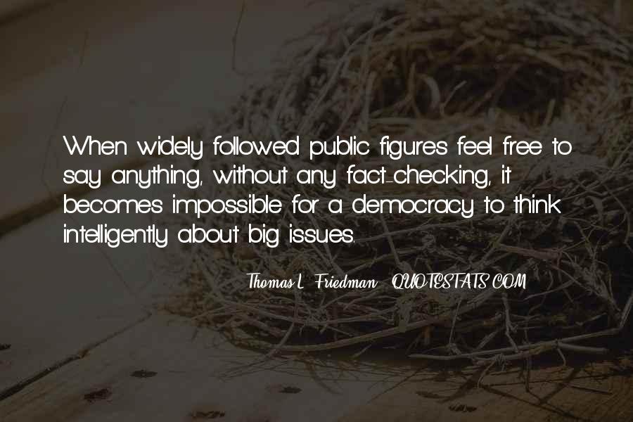 Democracy Freedom Of Speech Quotes #1234631