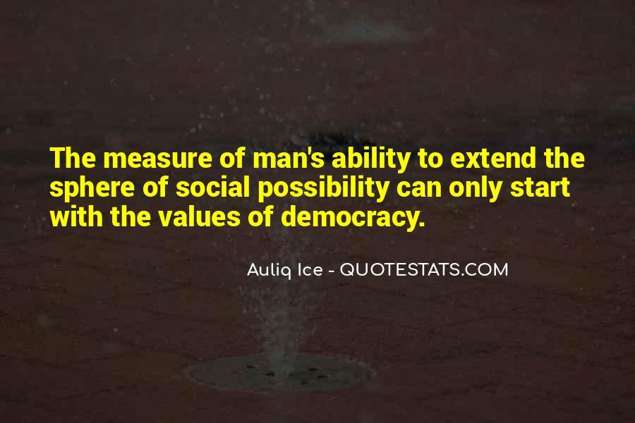 Democracy Freedom Of Speech Quotes #1400436