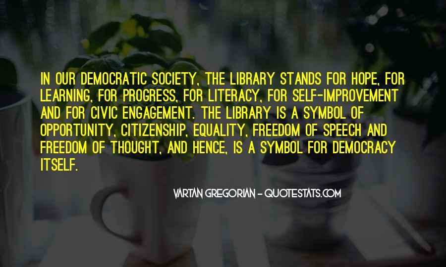 Democracy Freedom Of Speech Quotes #1583134