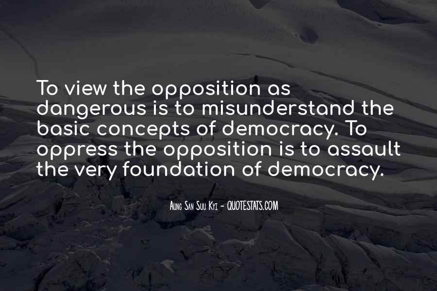 Democracy Freedom Of Speech Quotes #1748957