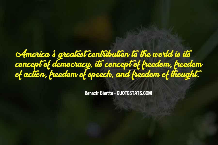 Democracy Freedom Of Speech Quotes #425952
