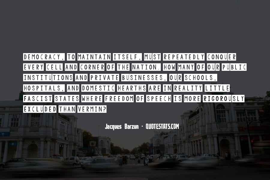 Democracy Freedom Of Speech Quotes #55141
