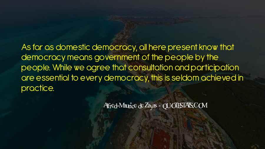 Democracy Participation Quotes #1286203