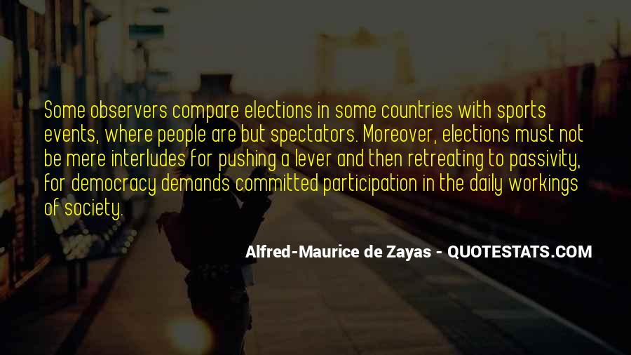 Democracy Participation Quotes #1583069