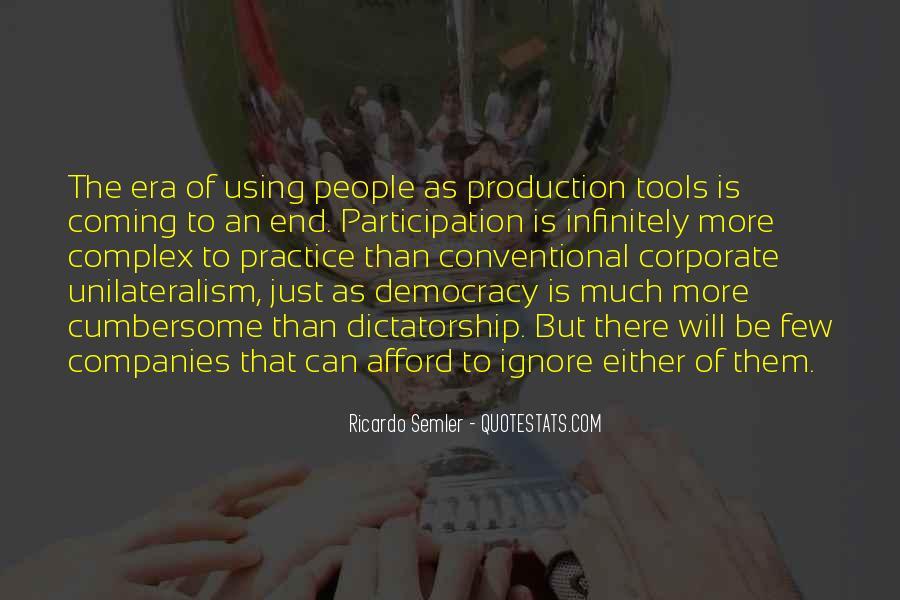 Democracy Participation Quotes #1633661