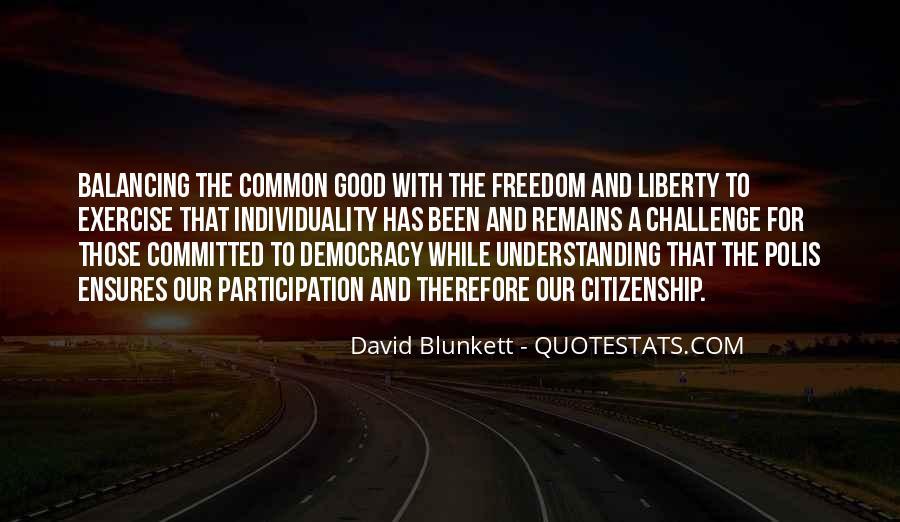Democracy Participation Quotes #278084
