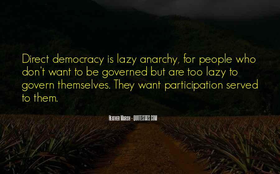 Democracy Participation Quotes #595427