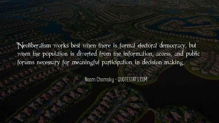 Democracy Participation Quotes #663008