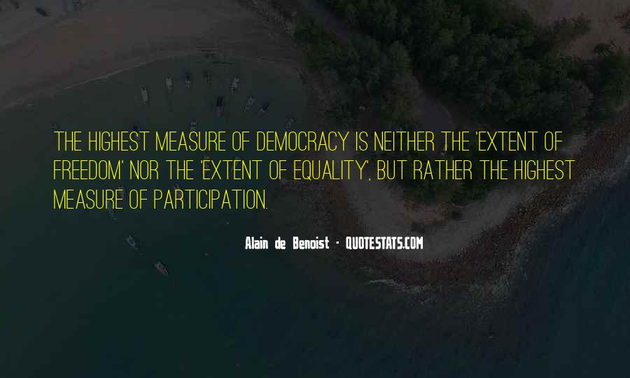 Democracy Participation Quotes #852483