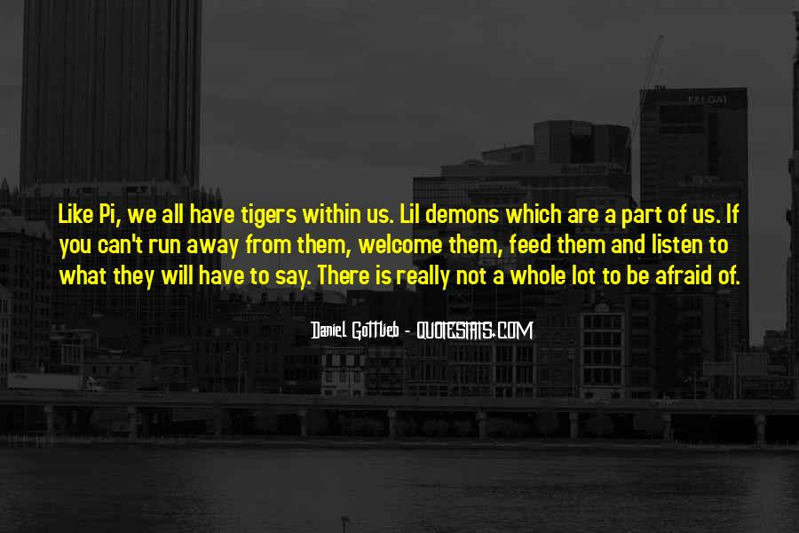 Demons Within Us Quotes #1042455