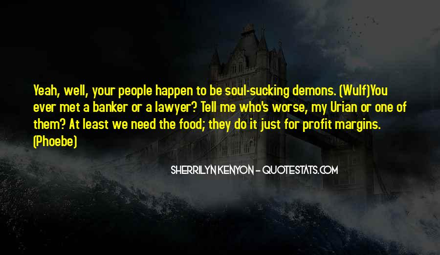 Demons Within Us Quotes #19061