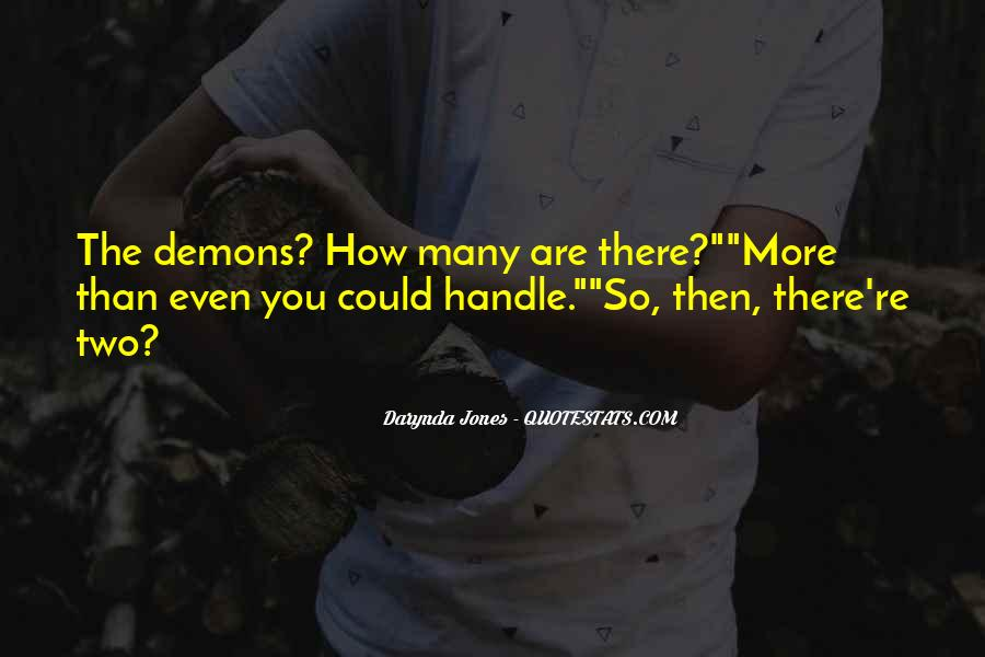 Demons Within Us Quotes #28483