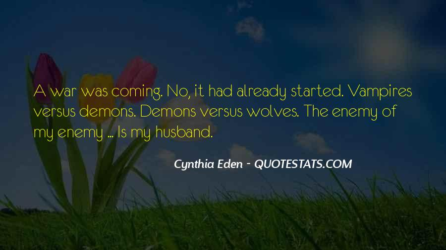 Demons Within Us Quotes #30935