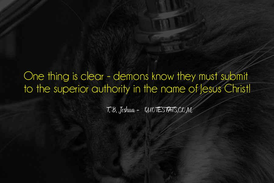 Demons Within Us Quotes #35803