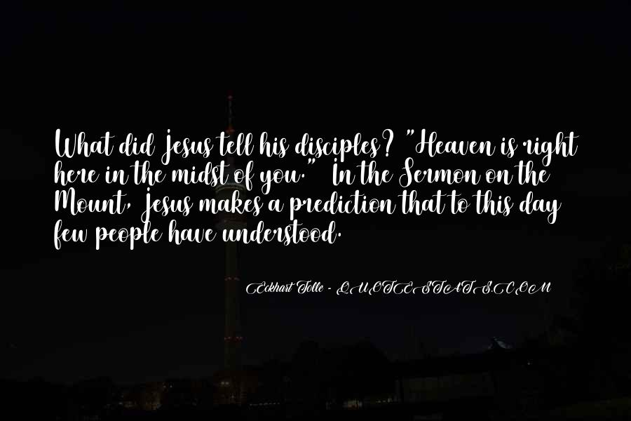 Quotes About Jesus Disciples #1008915