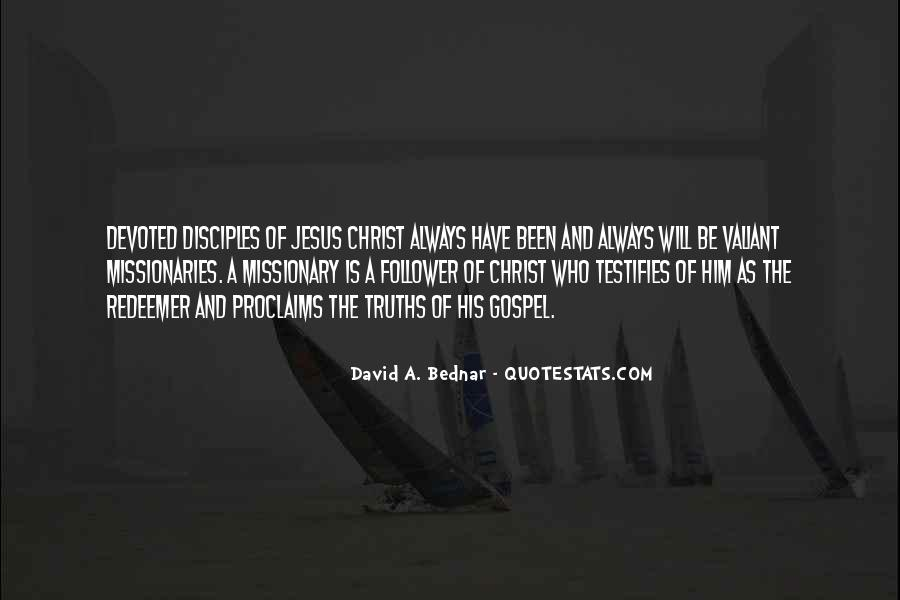Quotes About Jesus Disciples #1075449