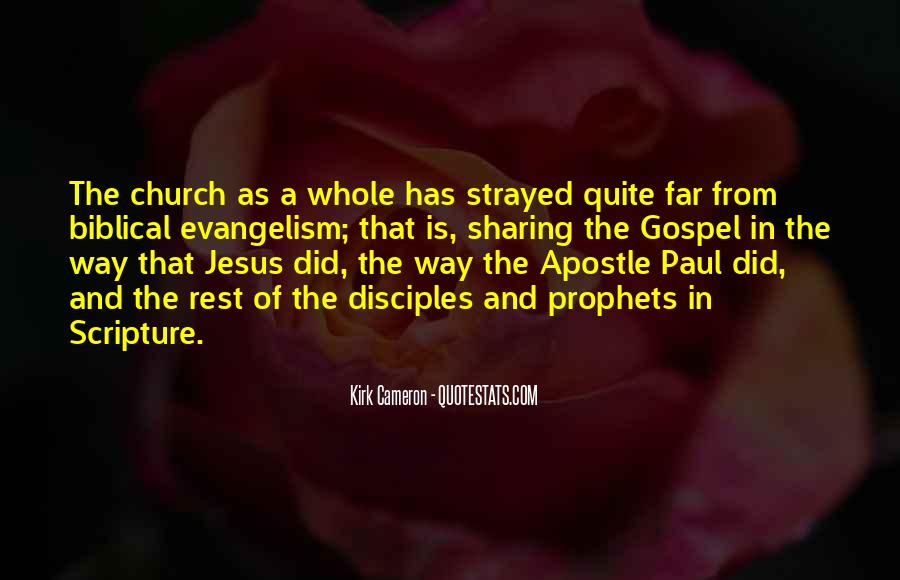 Quotes About Jesus Disciples #1141850