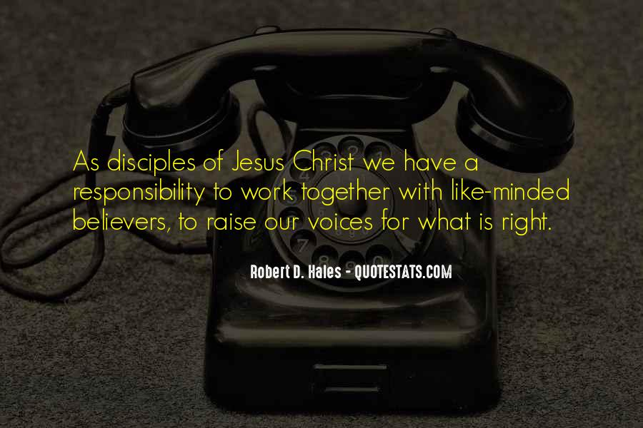 Quotes About Jesus Disciples #1289884