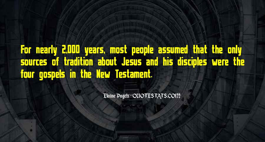 Quotes About Jesus Disciples #1311894