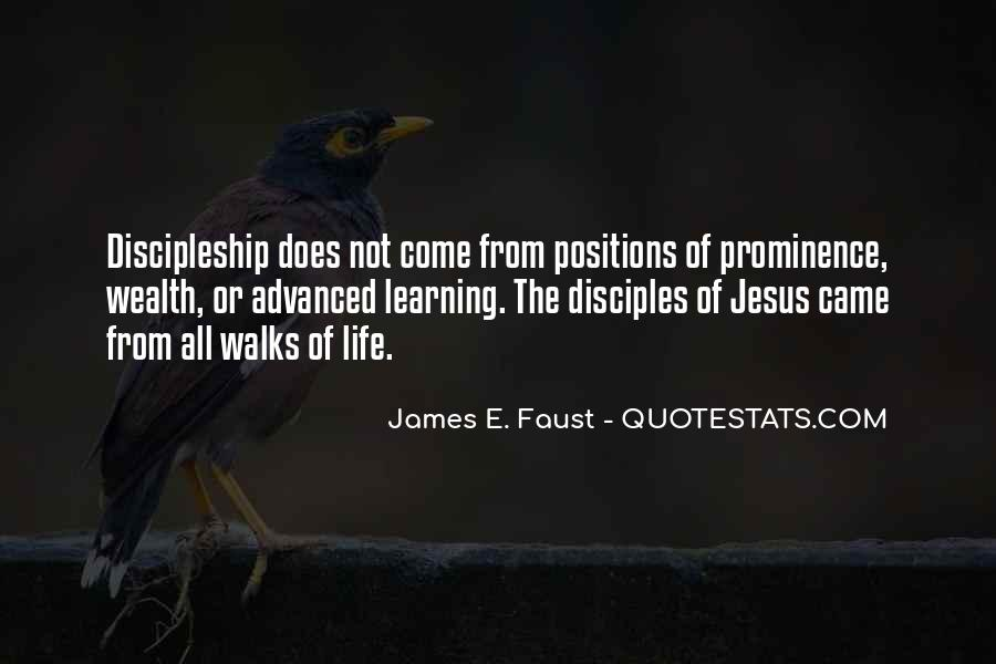 Quotes About Jesus Disciples #196395
