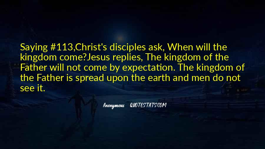 Quotes About Jesus Disciples #196404
