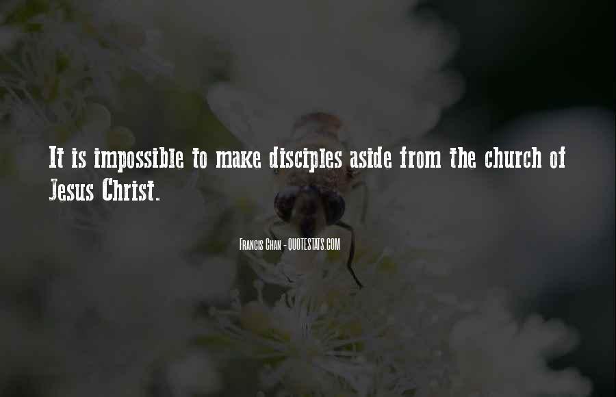 Quotes About Jesus Disciples #224663