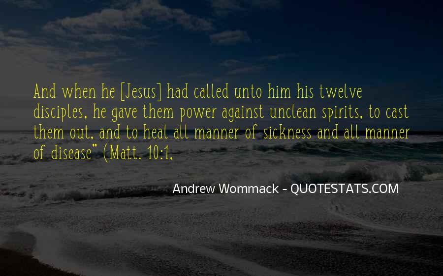 Quotes About Jesus Disciples #26790
