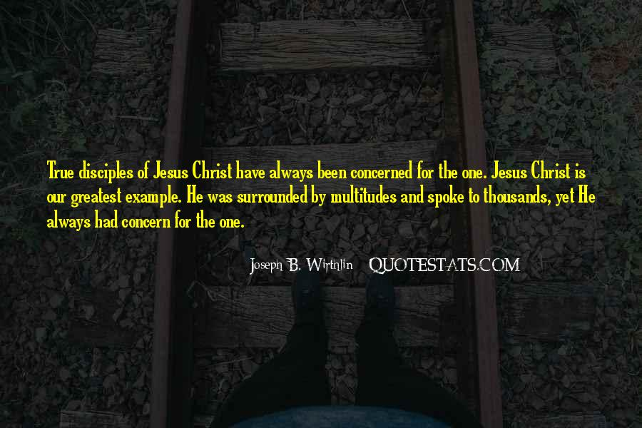 Quotes About Jesus Disciples #851418