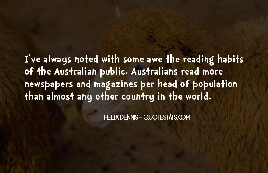 Dennis Felix Quotes #1633838