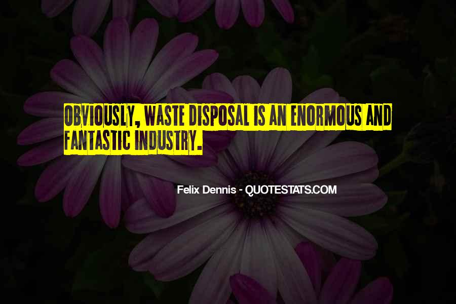 Dennis Felix Quotes #524399