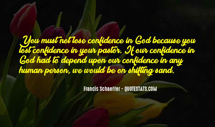 Depend On God Quotes #114493