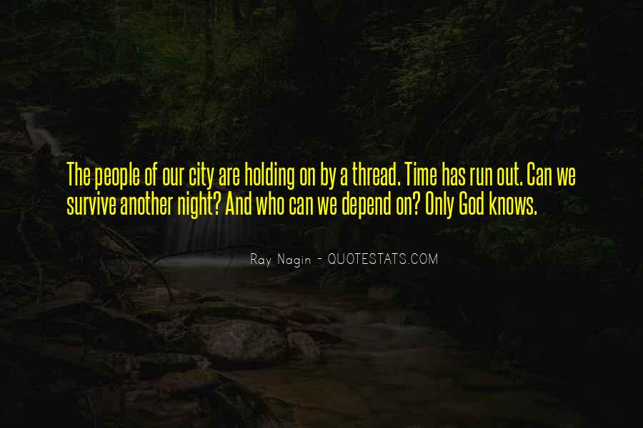 Depend On God Quotes #1184715