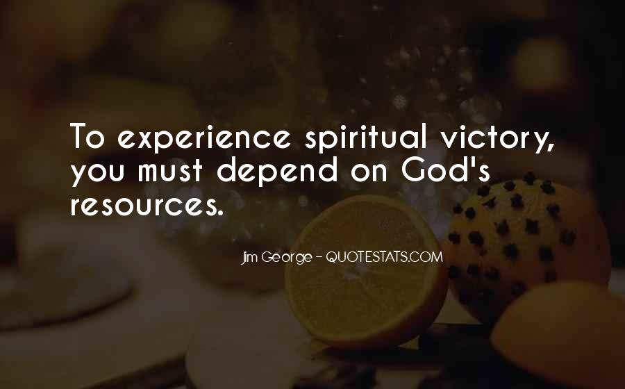 Depend On God Quotes #1221858