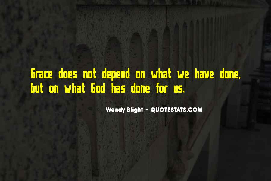Depend On God Quotes #1239917
