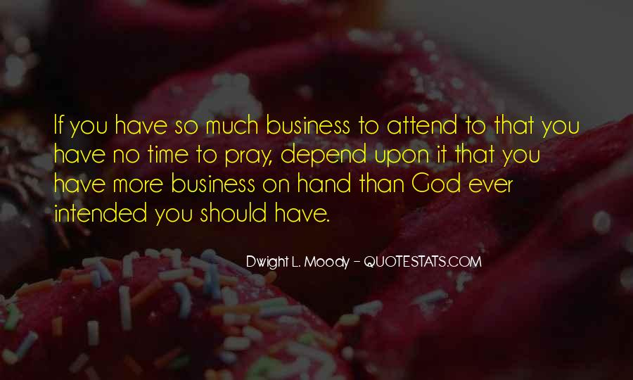 Depend On God Quotes #1662083