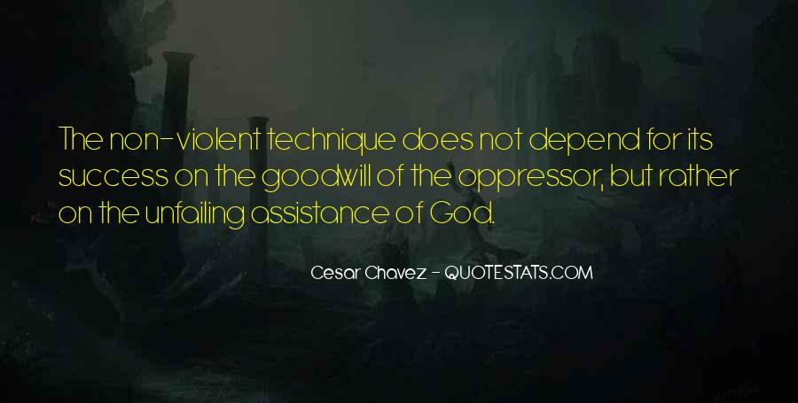 Depend On God Quotes #1696351