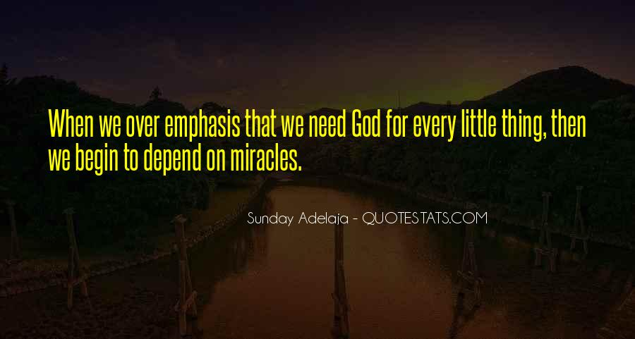Depend On God Quotes #1697513